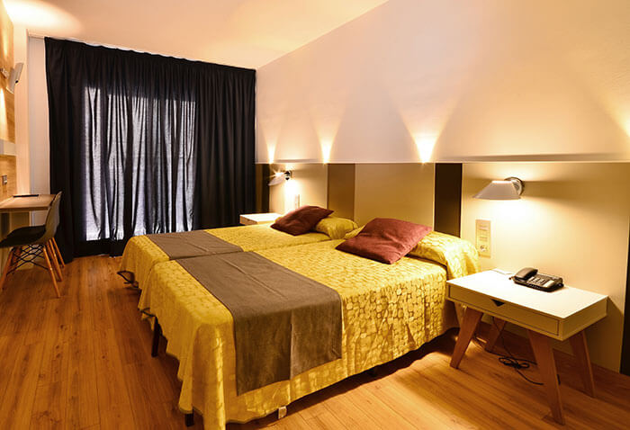 Habitación del Hotel Olympus